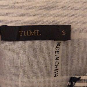 Anthropologie Dresses - Anthropologie THML flutter sleeve dress (Sz S)